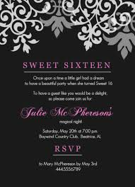 sweet 16 invitation wording unique free printable birthday templates best happy of invite