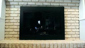 fireplace ash dump door home depot cleanout replacement