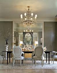 Small Picture 25 Elegant Black And White Dining Room Designs Grey wall mirrors