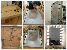 Building Bathroom Vanity Ideas For Making Your Own Vanity Mirror With Lights Diy Or Buy