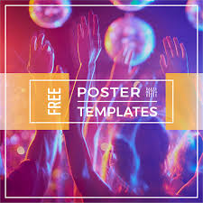 Poster Templet Creating A Poster Online Here Are Free Poster Templates Crello Blog