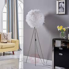 pauline tripod floor lamp with feather décor 9620975 02