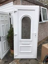 white front door. Image Is Loading UPVC-WHITE-FRONT-DOOR White Front Door