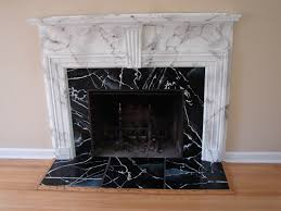 faux marble fireplace surround round designs