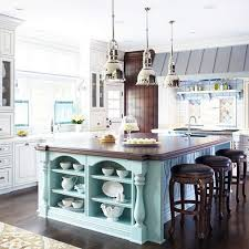 painted kitchen islandsBHG Centsational Style