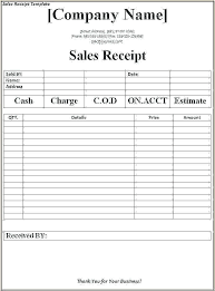 Free Invoice Receipt Template Receipt Template App Free Receipt And