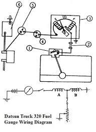 datsuntruck320fuelgaugewiringdiagram jpg Fuel Gauge Wiring Schematic Fuel Gauge Wiring Schematic #43 fuel gauge wiring schematics 1984 jeep cj -7
