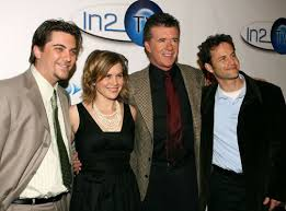 alan thicke family. Perfect Family Growing Pains Getty PP Getty Images Grandpa Alan Thicke  To Family I