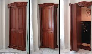 convert closet to safe room imposing real life panic rooms for the rich and famous