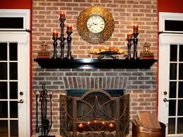 decorations charming white fireplace mantel decorating ideas with glass flower vase and candle holder striking