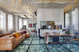 12 crazy flooring options much cooler than hardwood for example broken glass