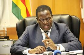 reports from harare indicate that president emmerson mnanwa effected a mini cabinet reshuffle on tuesday evening