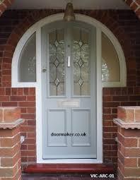 arched front doorVictorian Arched Front Door VICARC01  Victorian Doors bespoke