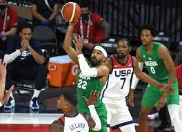 basketball team in shocking Olympic tune-up