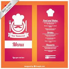 Togo Menu Templates Free Printable Restaurant Menu Templates Take Out Restaurant Menu