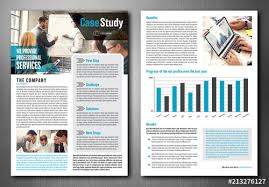 Case Study Layout Buy This Stock Template And Explore