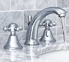 Warby Cross Handle Widespread Bathroom Faucet