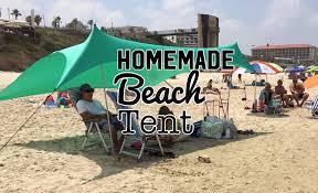 introduction homemade beach tent