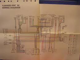 yamaha xj wiring diagram yamaha image wiring diagram yamaha xj6 diversion diagram schematic all about repair and on yamaha xj6 wiring diagram