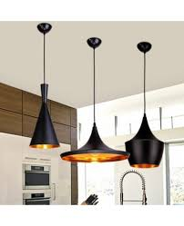 tom dixon pendant lamp beat light ceiling pendant light lamp shade copper lampshade black white red