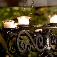 outdoor hanging solar chandelier marvelous moraethnic home ideas 7