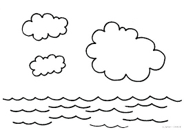 Water Cycle Coloring Pages Water Cycle Colouring Page Water Cycle