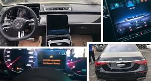 The interior feels stitched together like a proper mercedes, the engine has decent power, and cargo space is impressive given the car's size. 2021 Mercedes Benz S Class Reveals Interior And Exterior In New Leaked Photos Video Carscoops