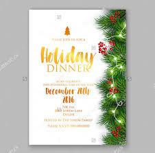 10 Holiday Dinner Invitation Psd Ai Free Premium Templates