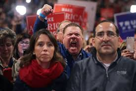 the second coming the politics of rage won t let us listen to one  the second coming a trump campaign rally at the dom hill amphitheatre in sterling heights michigan © chip somodevilla getty images