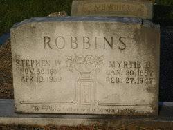 "Myrtle ""Myrtie"" Boroughs Robbins (1887-1947) - Find A Grave Memorial"