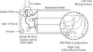 how to wire your baseboard heater Double Pole Thermostat Wiring Diagram baseboard heater installation 4 wiring diagram for double pole thermostat