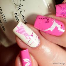Nicole Diary Stamping Plate ND-029 ~ Nail Art | Polish and Paws