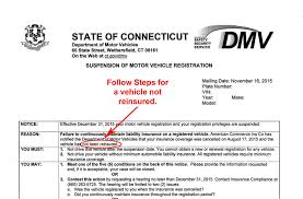 - Pay For Suspended Registration Insurance Fine Not Currently Dmv