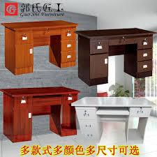 home office desktop 1. Computer Desk Desktop Home Office 1 2 M Simple Modern Economical Multi-drawer With Lock S