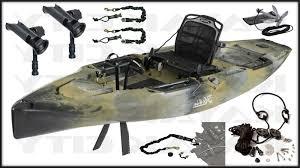 Sealect Designs Anchor Trolley Kit For Kayaks 2019 Hobie Mirage Outback Kayak Fishing Package
