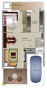 800 ground floor plan east facing 2 bed room