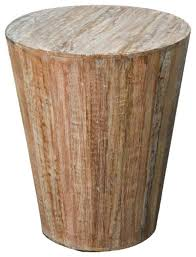 rustic reclaimed round end table distressed white rustic side tables and end tables by favors handicraft