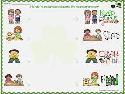 Good Manners Worksheets for Kindergarten – careless.me