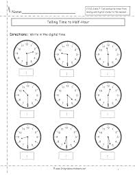 Digital Time Worksheets View Preview Blank Analogue And For Grade 5 ...