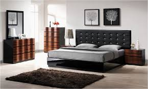 Modern Contemporary Bedroom Furniture Design Black And White