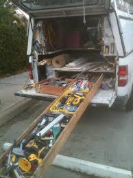homemade truck bed slide