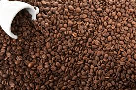 coffee beans background. Simple Background View Full Size In Coffee Beans Background