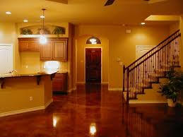 Ideas For Cement Floors Great Finished Basement Flooring Ideas