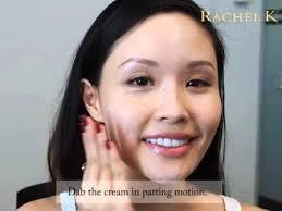 how to apply cc cream rachel k tutorial cccream beautychamber rackelkcccream
