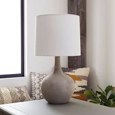 Magnolia Home Lighting Fixtures Magnolia Home Ashby Large Cement Table Lamp Farmhouse