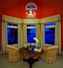 Window Valance Living Room Bay Window Valance Living Room Traditional With Arch Window Bay