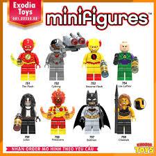 Xếp hình minifigure nhân vật siêu anh hùng vũ trụ DC Comics - Đồ Chơi Lắp  Ghép Sáng Tạo - X0178