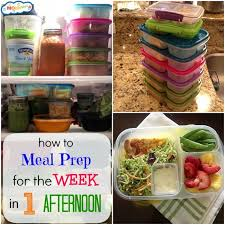 Weekly Lunch Prep How To Prep For The Week In One Afternoon