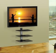 tv on wall with shelves. the delightful images of tv wall mount with shelf at lowes ideas above argos on shelves
