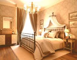 romantic master bedroom with canopy bed. Wrought Iron Canopy Bed For Romantic Master Bedroom Paint Colors With Elegant Lighting And Drapes E